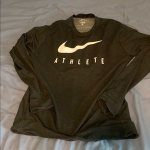 Nike dri-fit long sleeve T shirt
